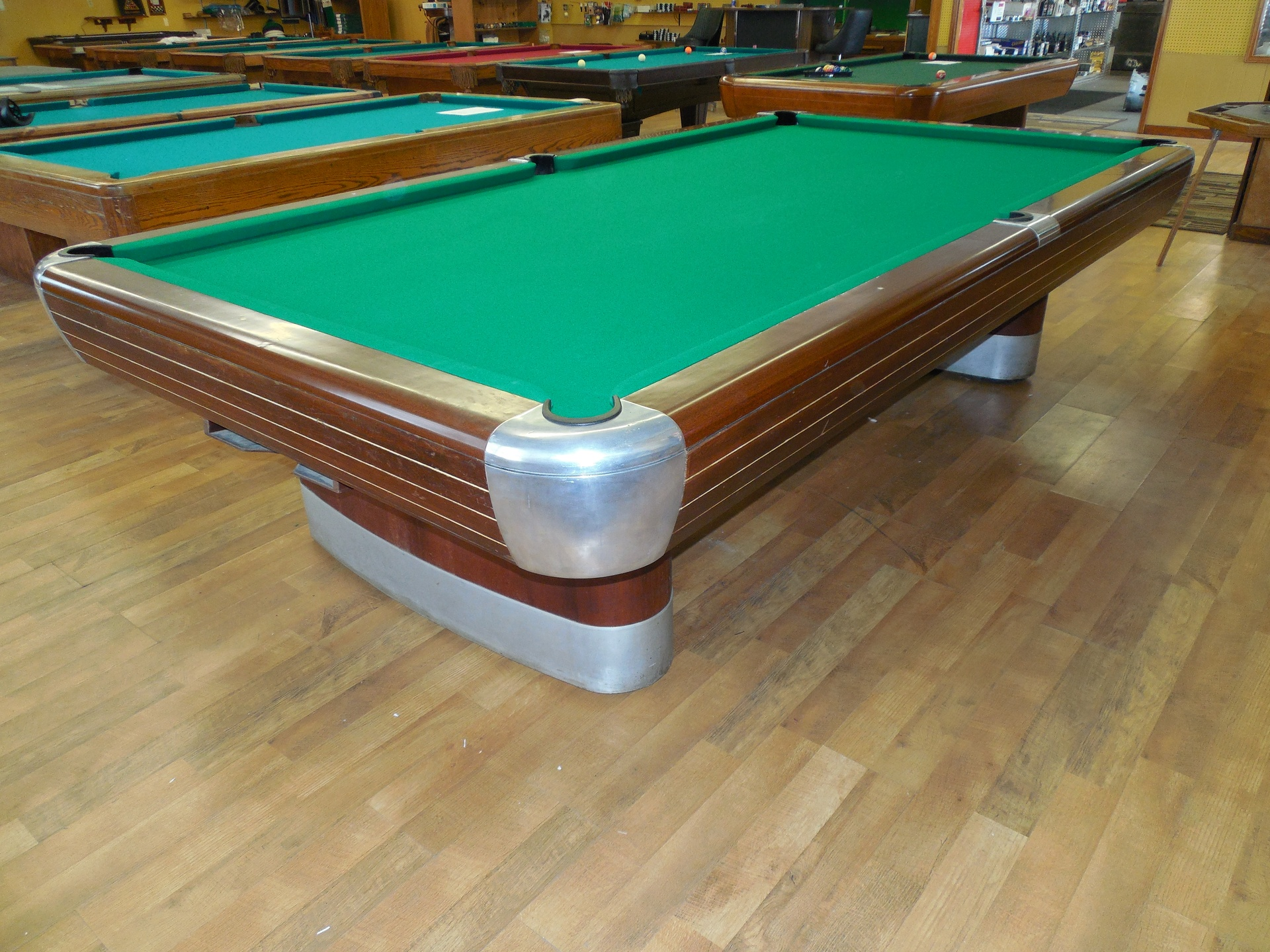 Pool Tables At Edison Billiard - Brunswick 9 foot pool table